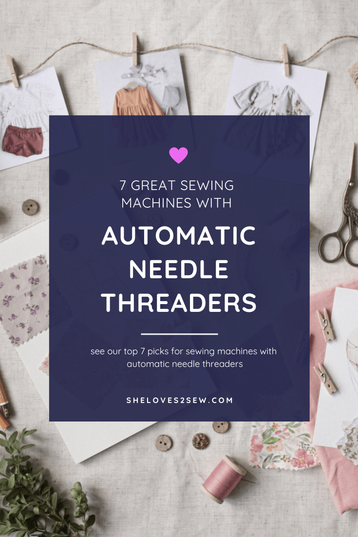 automatic needle threader sewing machines