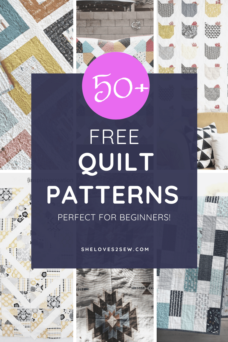 Free Sewing Machine Quilt Patterns for Beginners