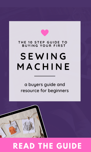 sewing machine buyers guide