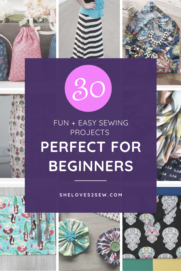 30 Sewing Projects for Beginners