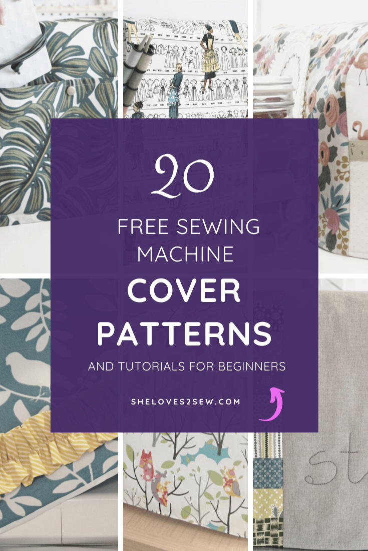 Free DIY Sewing Machine Cover Patterns
