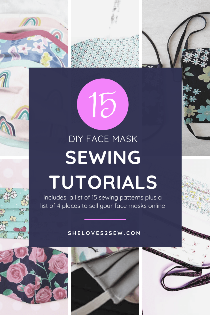 How to Sew a Face Mask Plus 15 Face Mask Sewing Tutorials for Beginners