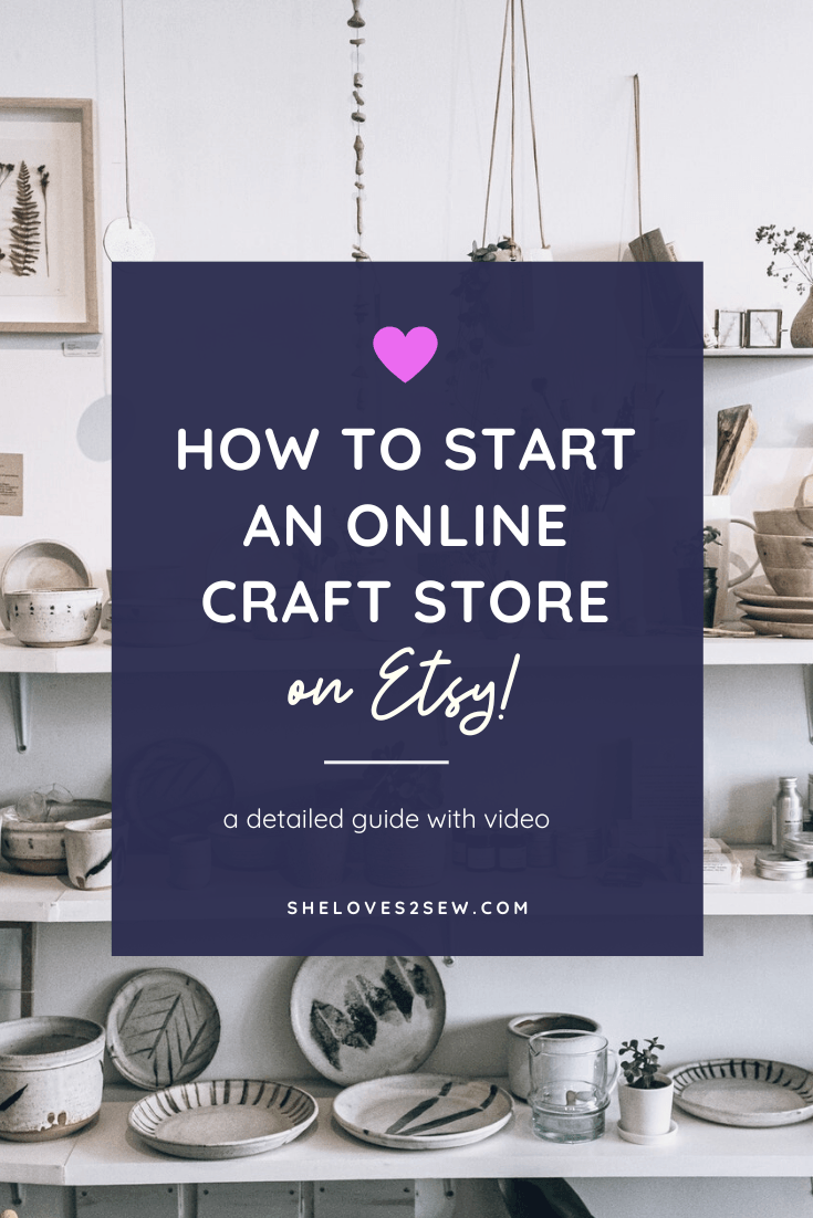How to Start a Craft Business on Etsy