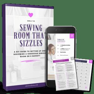 Sewing Room Design eBook and Workbook