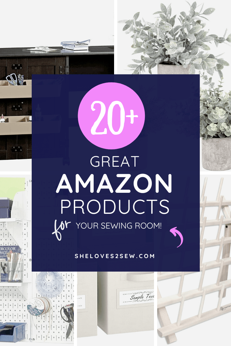 Amazon must haves for sewing room
