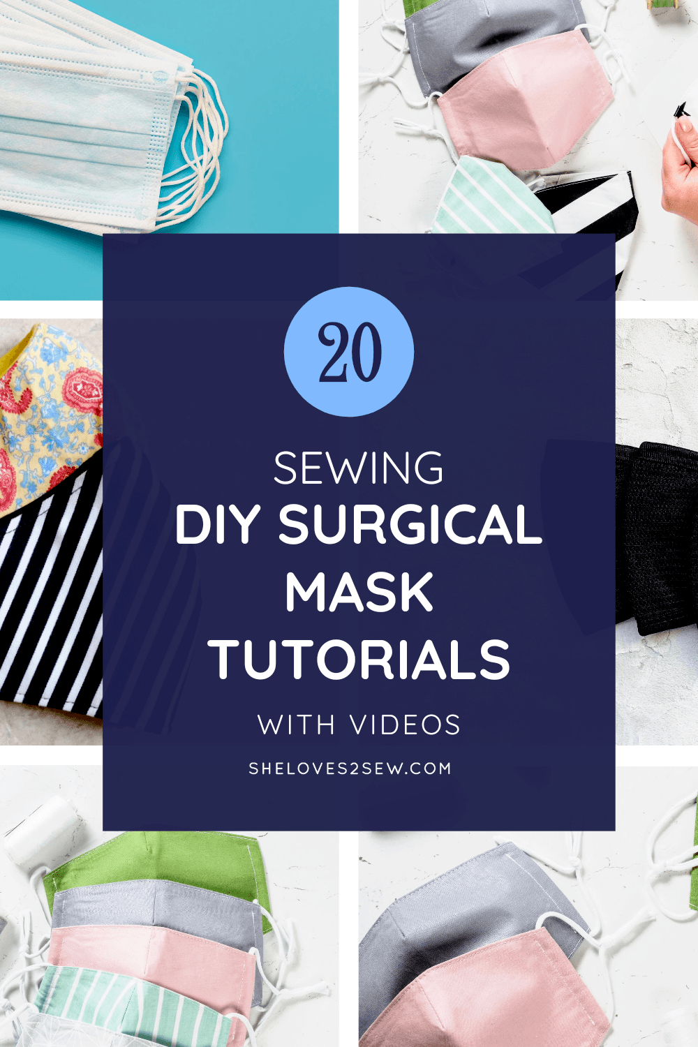 Sewing DIY Surgical Face Masks