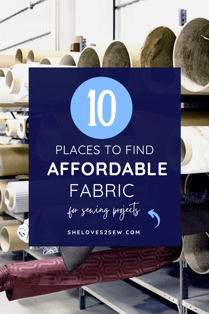 Affordable Fabric for Sewing Projects