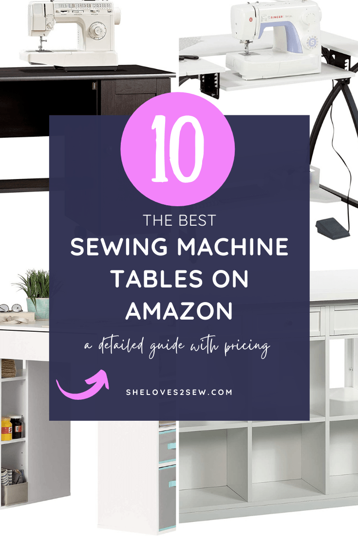 Best Sewing Machine Tables on Amazon