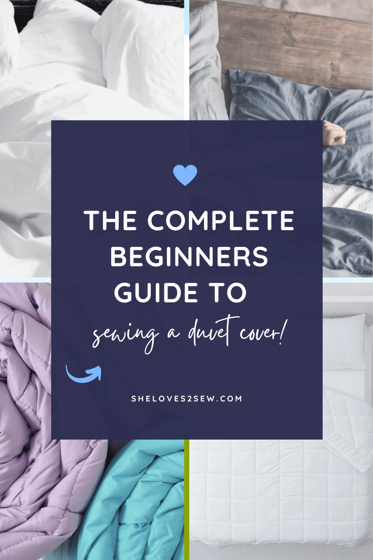 Sewing a Duvet Cover