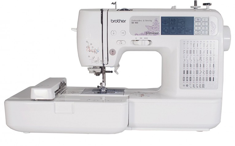 Brother SE400 Computerized Sewing Machine Review