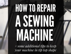 Sewing Machine Repair: 5 Preventative and Regular Maintenance Tips
