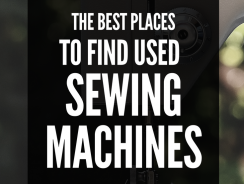 The Best Places to Find Used Sewing Machines