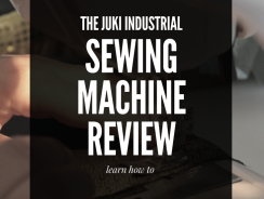 Juki Industrial Sewing Machine Review